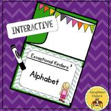 Differentiated Interactive Alphabet Autism