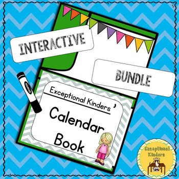 Differentiated Interactive Calendar Books with Alphabet an