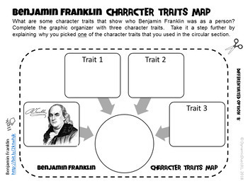 Differentiated Interactive Reading Activities for Benjamin Franklin w/ Test Prep