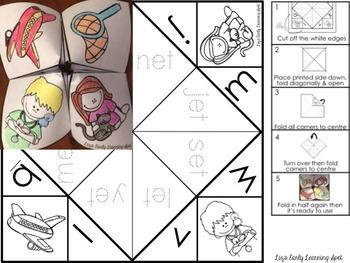 Differentiated Interactive Word Families: Hands-On -ET Activities