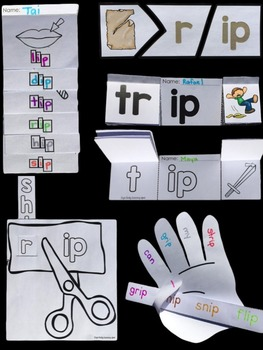 Differentiated Interactive Word Families: Hands-On -IP Activities