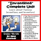 Inventions Unit & Enrichment Projects, Thomas Edison, Henry Ford