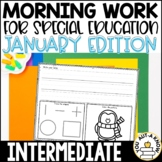 Intermediate Special Education Morning Work: January Editi