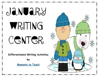 Differentiated January Writing Center