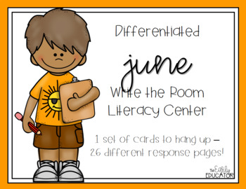 Differentiated June Write the Room Center