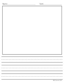 Differentiated Kidwriting Papers FREEBIE!