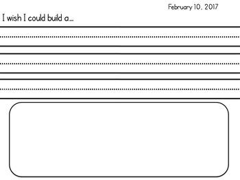 Differentiated Kindergarten Morning Work - February