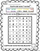 Differentiated Kindergarten Color Word Searches (Color and