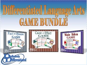 Differentiated Language Arts Game Bundle!