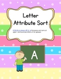Differentiated Letter Attribute Sort - Word Work (Common Core)