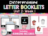 Differentiated Letter Booklets and Running Records (Unit 2, Week 1) Letter P