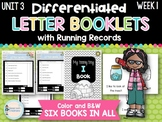 Differentiated Letter Booklets and Running Records (Unit 3, Week 1) Letter I