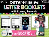 Differentiated Letter Booklets and Running Records (Unit 3, Week 2) Letter N