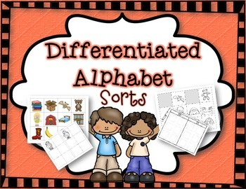 Differentiated Letter Sorts:  C A M & N