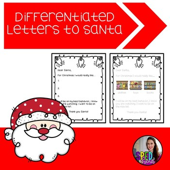Differentiated Letters to Santa