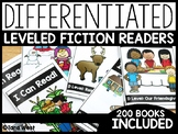 Differentiated Leveled Fiction Readers Distance Learning + Homeschool Compatible