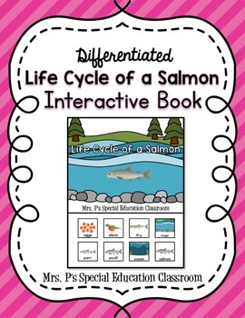 Differentiated Life Cycle of a Salmon Interactive Book