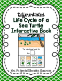 Differentiated Life Cycle of a Sea Turtle Interactive Book