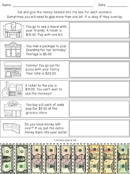 Differentiated Life Skill Math Pack (Community Places)