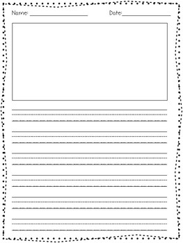 Differentiated Lined Handwriting Paper