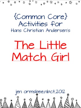 Differentiated Literacy Activities The Little Match Girl