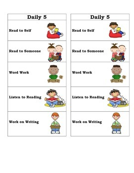 Differentiated Literacy Center Bookmarks
