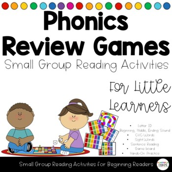 Differentiated Literacy Games - Letters, Sight Words, CVC, Sentences