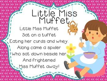 Differentiated Nursery Rhyme Literacy Activities