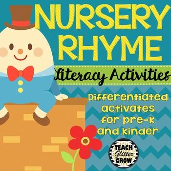 Nursery Rhyme Literacy Activities
