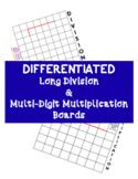 Differentiated Long Division and Multi-Digit Multiplicatio