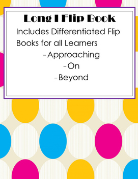 Differentiated Long I Flip Books/ Flap Books
