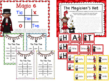 Magic Silent e Pack - 6 Differentiated Activities with CVC, CVCe, and CCVCe