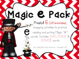 Magic Silent e Pack - 6 Differentiated Activities with CVC