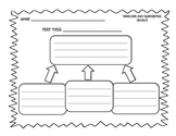 Differentiated Main Idea Graphic Organizers