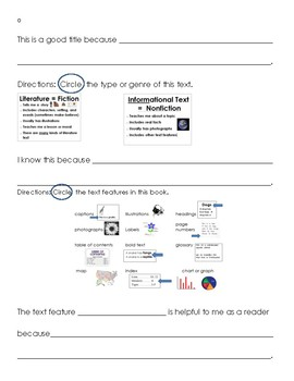 Differentiated Main Topic Key Detail Response to Reading (End of Year)