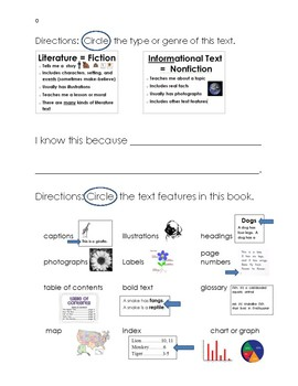 Differentiated Main Topic Key Detail Response to Reading (Middle of Year)