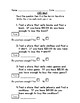 Differentiated Mall Community Based Instruction (CBI) Worksheet 4