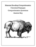 Differentiated Mammal Reading Comprehension