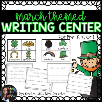 Differentiated March/St. Patrick's Day Writing Center