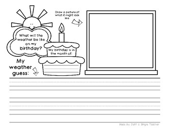 Differentiated March Writing Journals for K and First Grade