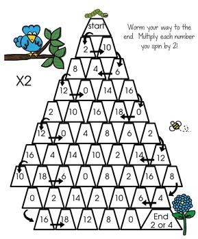 Math Center Games Differentiated math activity. 1-3rd grade