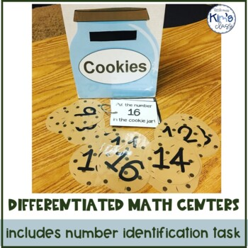 Differentiated Math Centers for ECE-Kinder or Special Ed