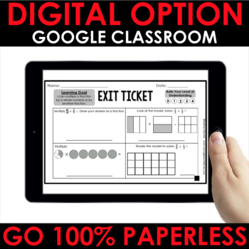 Differentiated Math Exit Tickets - Quick Checks Math Assessments EDITABLE BUNDLE