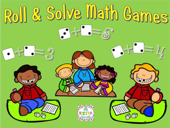 Differentiated Math Games- Roll and Solve!
