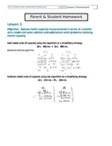 Differentiated Math Homework for Grade 4 Module 2