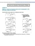 Differentiated Math Homework for Grade 4 Module 3