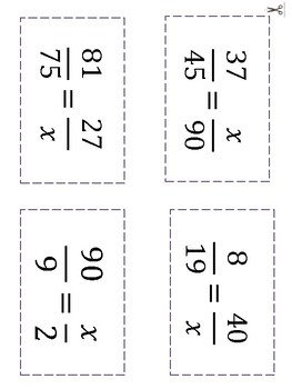 Differentiated Math Paths. Solving proportions in an independent way
