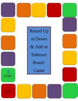 Differentiated Math Rounding Numbers Game