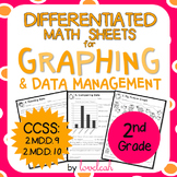 Differentiated Math Sheets for Graphing and Data Management