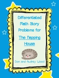 Differentiated Math Story Problems for The Napping House